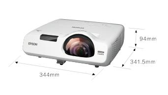 产品外观尺寸 - Epson CB-530产品规格