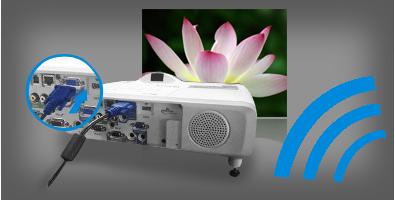 豐富靈活的投影方式 - Epson CB-535W產品功能