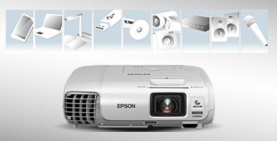 丰富的连接性 - Epson CB-950WH产品功能