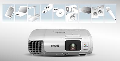 丰富的连接性 - Epson CB-955WH产品功能
