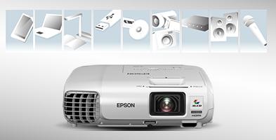 丰富的连接性 - Epson CB-97H产品功能