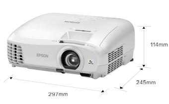 产品外观尺寸 - Epson CH-TW5210产品规格