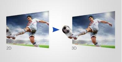 2D 转3D 技术 - Epson CH-TW5350产品功能