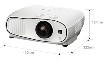 产品外观尺寸 - Epson CH-TW6600产品规格