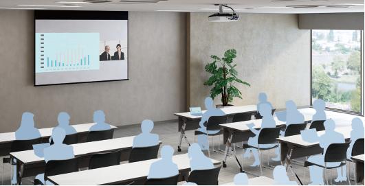 双画面并列投影 - Epson EB-C740X产品功能