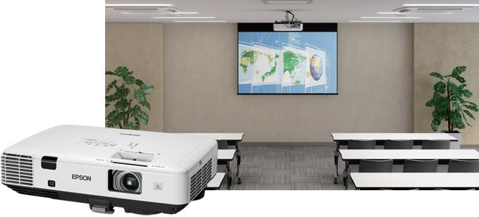 高亮度、大画面 - Epson EB-C740X产品功能