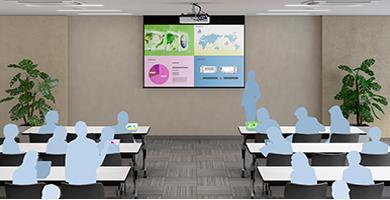 网络四画面分割投影 - Epson EB-C754XN产品功能