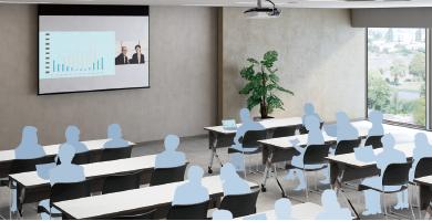 双画面并列投影 - Epson EB-C754XN产品功能