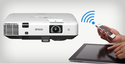 智能手机及平板电脑无线投影 - Epson EB-C754XN产品功能