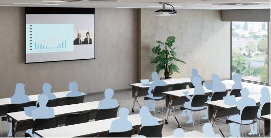 双画面并列投影 - Epson EB-C760X产品功能
