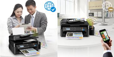 有网无网都能用 - Epson 墨仓式<sup>®</sup>L565产品功能