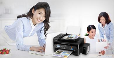 远程打印 - Epson 墨仓式<sup>®</sup>L565产品功能