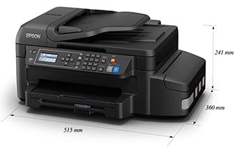 产品外观尺寸 - Epson 墨仓式<sup>&reg;</sup>L655产品规格