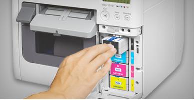 4色喷墨打印技术 - Epson TM-C3520产品功能