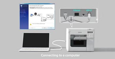 随机附带Navi安装软件 - Epson TM-C3520产品功能