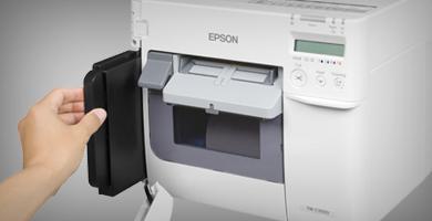 多类型标签介质的兼容 - Epson TM-C3520产品功能