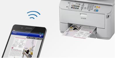 打印连接灵活多样 - Epson WF-5623产品功能