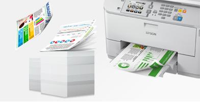 自动双面 便捷高效 - Epson WF-5623产品功能