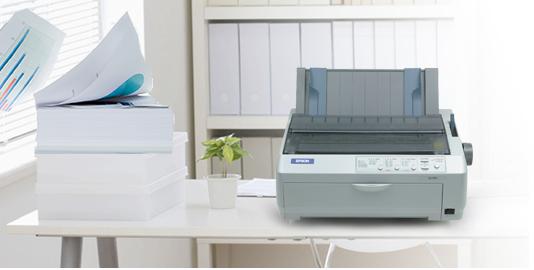 方便的走纸方式 - Epson LQ-590K产品功能
