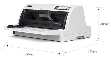 產品外觀尺寸 - Epson LQ-690K產品規格