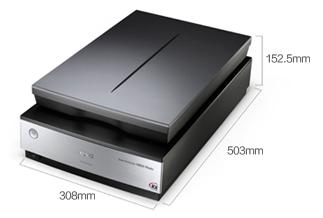 产品外观尺寸 - Epson Perfection V850 Pro产品规格