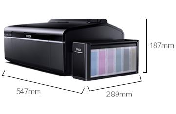 产品外观尺寸 - Epson 墨仓式<sup>®</sup>L805产品规格