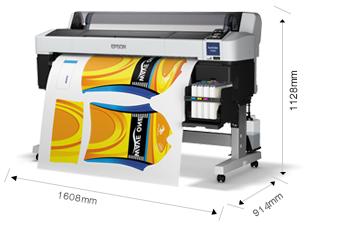 产品外观尺寸 - Epson SureColor F6280产品规格