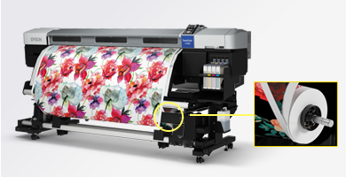 连续介质供给/收卷系统 - Epson SureColor F7280产品功能