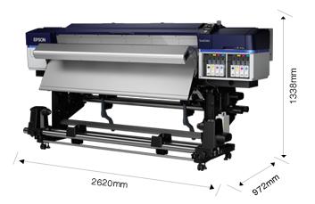 产品外观尺寸 - Epson SureColor S60680产品规格