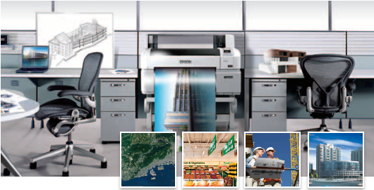 丰富的行业应用 - Epson SureColor T3280产品功能