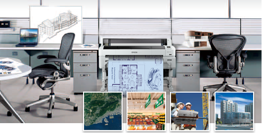 丰富的行业应用 - Epson SureColor T7280D产品功能