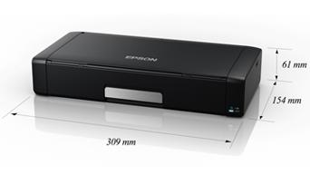 产品外观尺寸 - Epson WorkForce WF-100产品规格