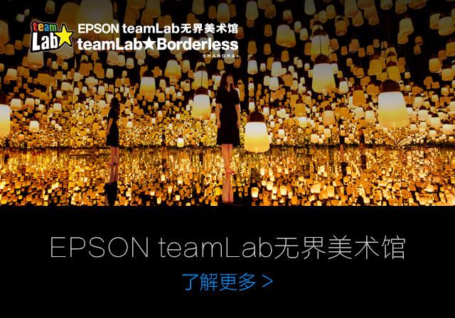 EPSON teamLab 無界美(mei)術(shu)館(guan)