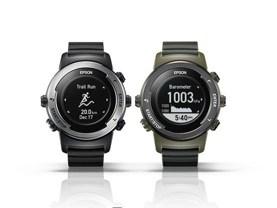 EpsonProSense X-100 - GPS运动手表