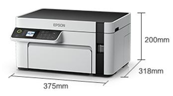 产品外观尺寸 - Epson M2128 产品规格
