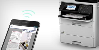 智慧办公 务实高效 - Epson WF-C579Ra产品功能