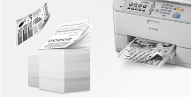 自动双面 便捷高速 - Epson WF-M5693产品功能