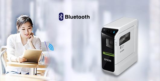 蓝牙直连 轻松共享 - Epson LW-600P产品功能