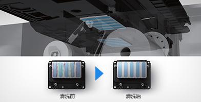 喷头清洁装置 - Epson SureColor B9080产品功能