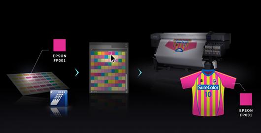 爱普生荧光色色彩数据库 - Epson F9480H产品功能