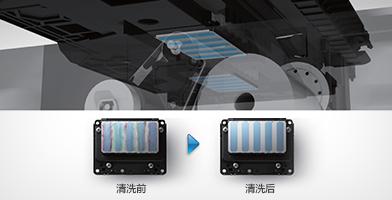 喷头清洁装置 - Epson F9480H产品功能