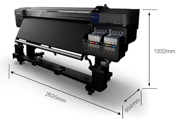 产品外观尺寸 - Epson SureColor F9480H产品规格