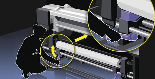 易于使用和维护 - Epson SureColor S80680产品功能