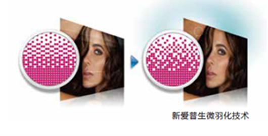 新爱普生微羽化技术 - Epson SureColor S80680产品功能
