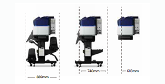 更紧凑的结构 - Epson SureColor S80680产品功能