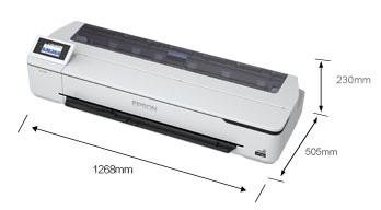 产品外观尺寸 - Epson SureColor T5180N产品规格