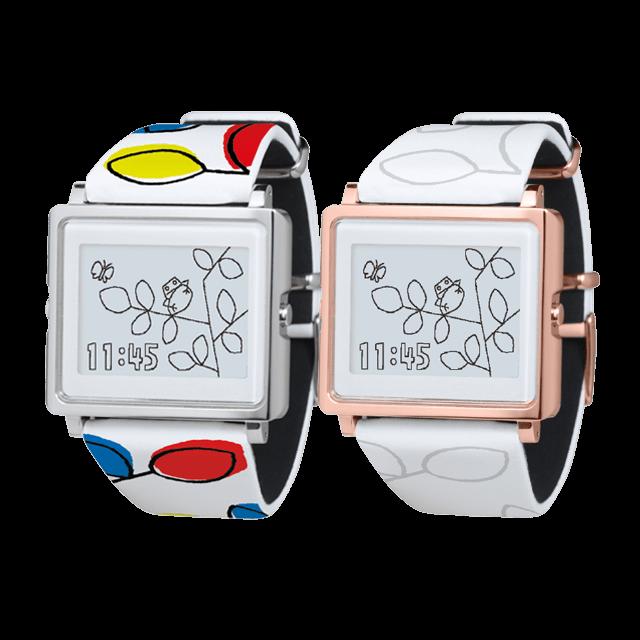 Epson蛙的时间 - 电子纸主题手表Smart Canvas