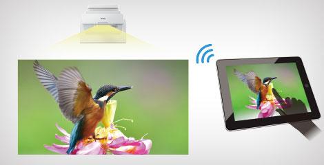 屏幕镜像 - Epson CB-735F产品功能