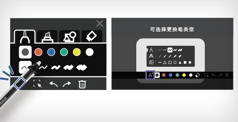 互动软件的新用户界面 - Epson CB-735Fi产品功能