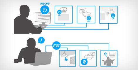 全新的管理软件 - Epson CB-735Fi产品功能